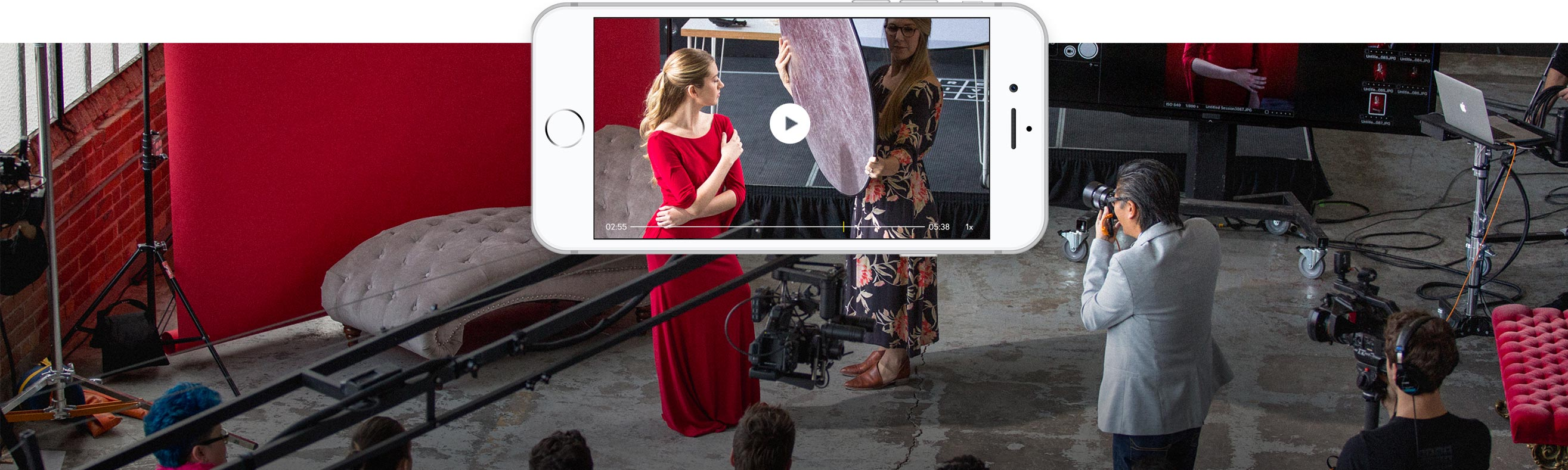 CreativeLive apps: iPhone, iPad and Apple TV