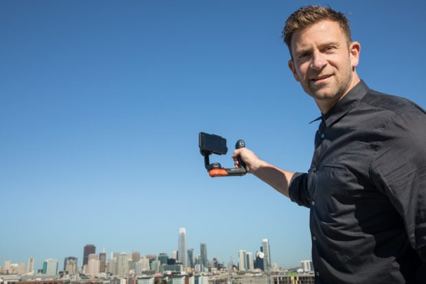 Chase Jarvis using new Freefly Systems Movi Gimbal