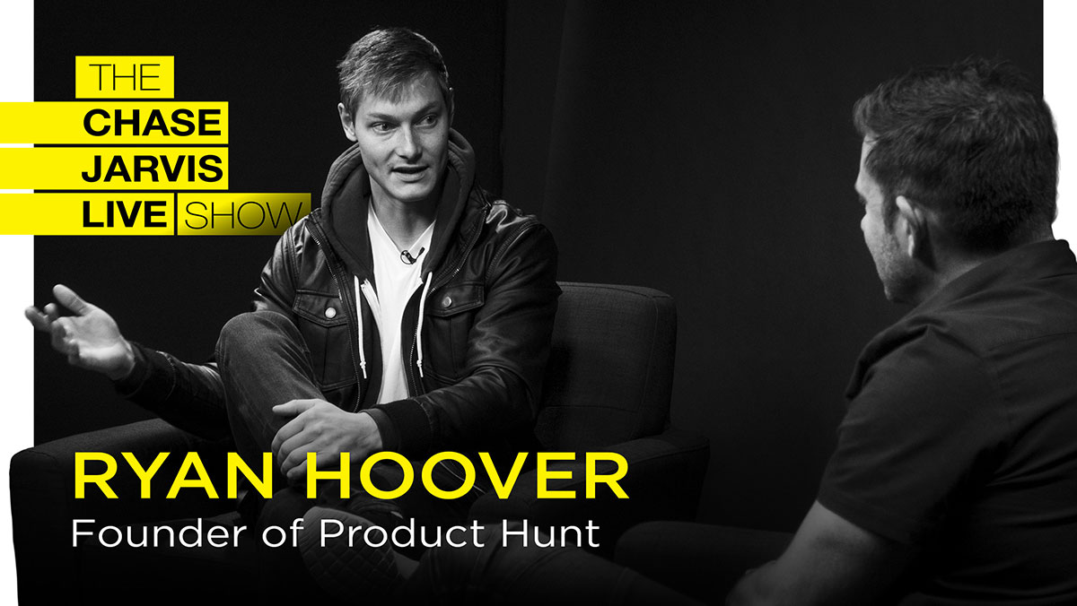 Chase Jarvis talks to Ryan Hoover of Product Hunt.