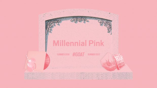 The Death of Millennial Pink from the Daily Beast and Elizabeth Brockway