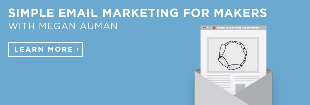 simple email marketing for makers