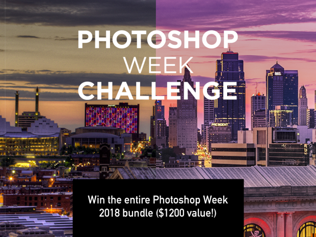 PSW18 Challenge: Win the Entire Photoshop Week 2018 Bundle