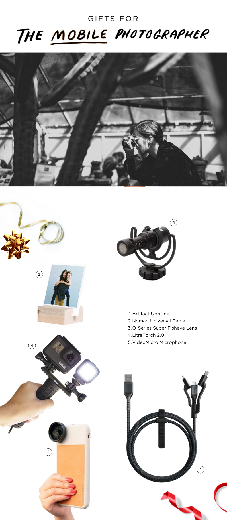 Best Holiday Gifts For the Mobile Photographer